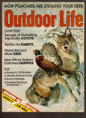 outdoor life outdoor life magazine december 1975 secrets of outwitting