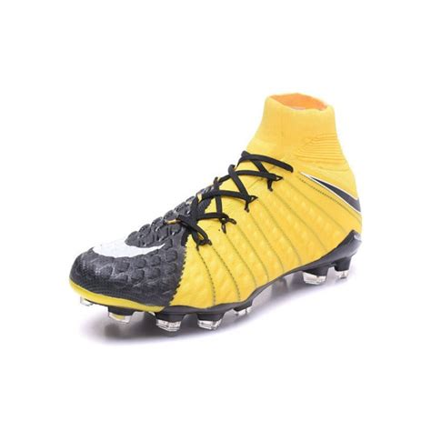nike sock boots yellow cheap hypervenom with sock nike phantom iii df fg for