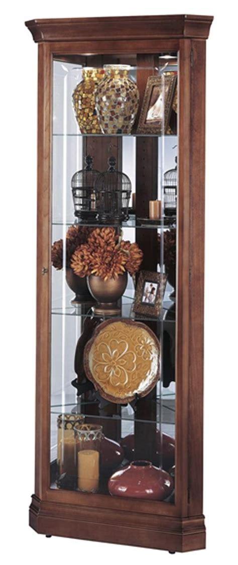 Corner Cabinet   Lynwood Model   Windsor Cherry Finish