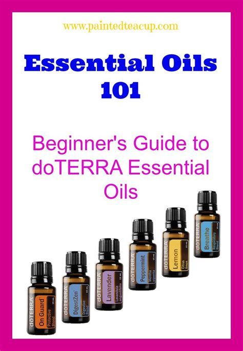 essential oils for beginners the easy guidebook to get started with essential oils and aromatherapy books 25 best ideas about doterra essential oils guide on