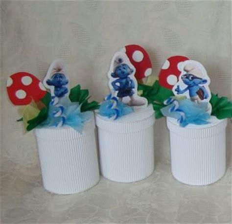 mytotalnet children smurfs centerpiece