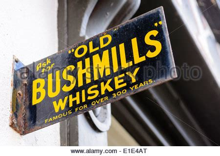 Mills Signs For With The 4 by Bushmills Stock Photo Royalty Free Image 56365759 Alamy