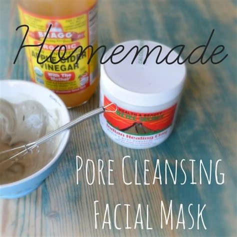 pore cleansing mask diy basic glass cleaner free