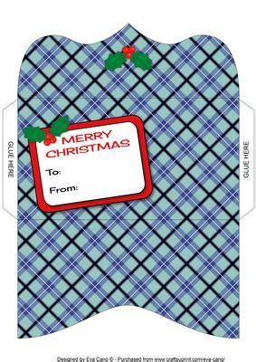 8x8 Card Box Template by Tartan Money Wallet 4 Cup586554 750 Craftsuprint