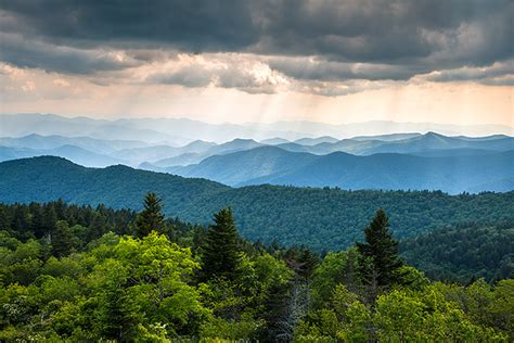 blue ridge landscaping summer in the mountains blue ridge parkway photography landscape by dave allen