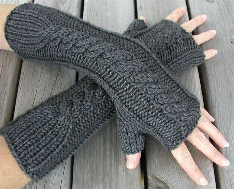 stricken handschuhe fingerless gloves knitting pattern a knitting