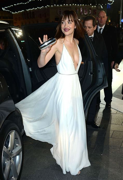 fifty shades of grey film premiere london dakota johnson quot fifty shades of grey quot premiere in london