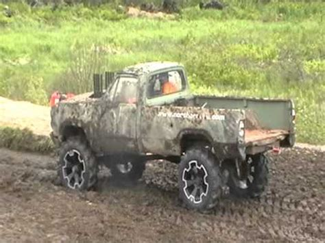 dodge mud truck dodge mud truck fails mud pit run bad youtube