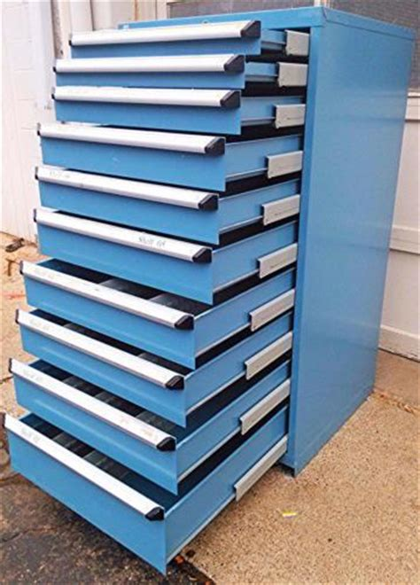 Cupboard Parts - rousseau 10 drawer blue modular parts cabinet new