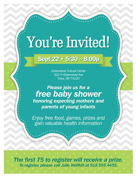 Community Baby Shower by Community Baby Shower Tulsa Health Department