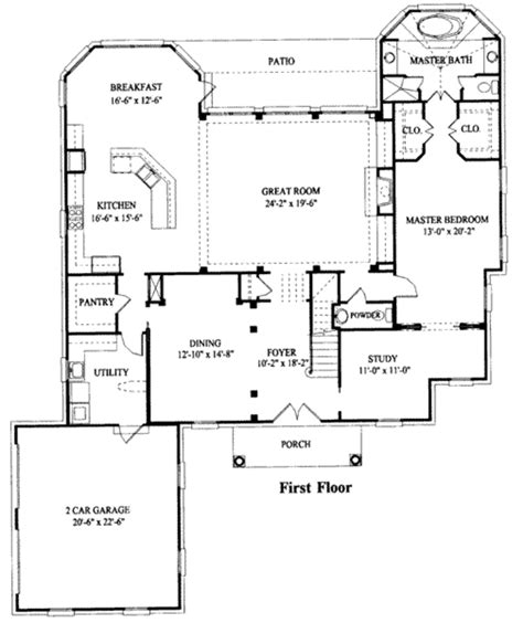 southern style floor plans southern style house plan 5 beds 3 5 baths 3612 sq ft