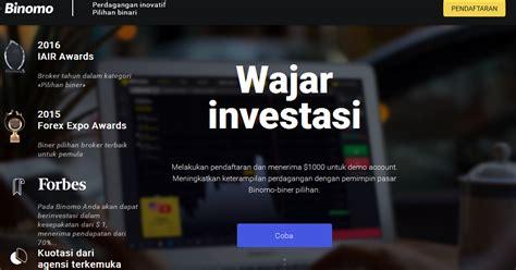 profit  juta setiap hari  binomo indonesia berita harian indonesia