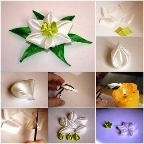 Origami Home Decor by How To Make Fabric Daffodils Flower Step By Step Diy