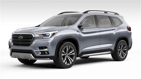 subaru suv interior all subaru ascent 7 passenger suv exterior and