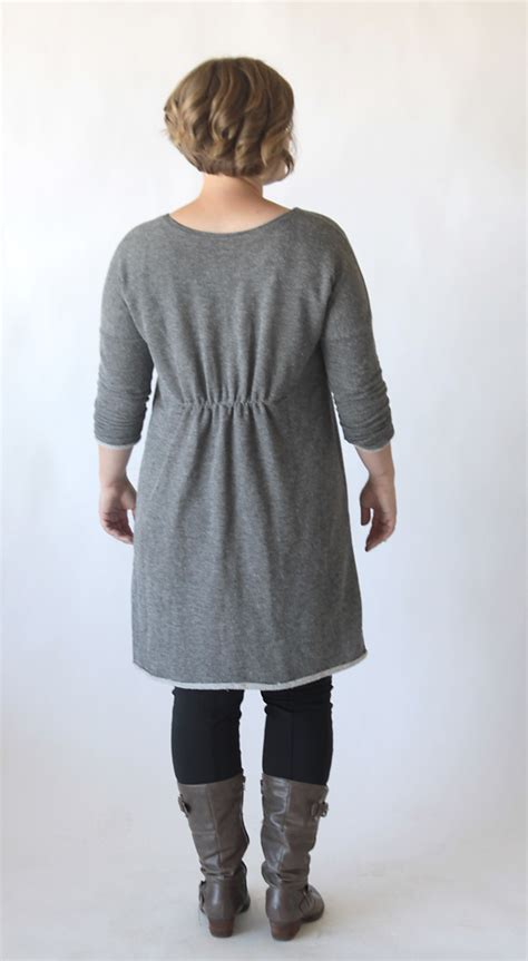 cardigan pattern sewing free the breezy tee long sleeve sweater dress free sewing