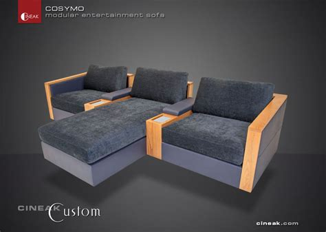 Theater Seating Sectional Sofa Home Theater Seats By Cineak Luxury Seating By Cineak Luxury Seating