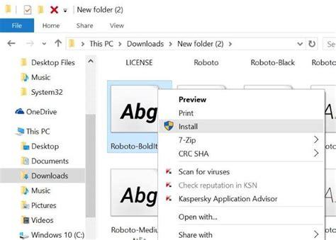 cara install windows 10 di asus x200m cara instal font di windows 10 basedroid