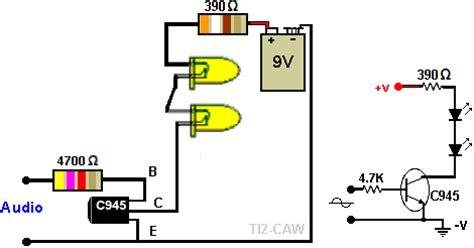 transistor c945 para que sirve leds audioritmicos y con transistor taringa