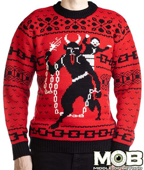 zombie christmas sweater more sweaters satan krus santa d20 plus rugs boing boing