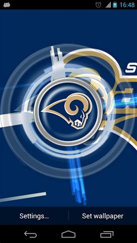 st louis rams live free st louis rams live wallpaper for android by