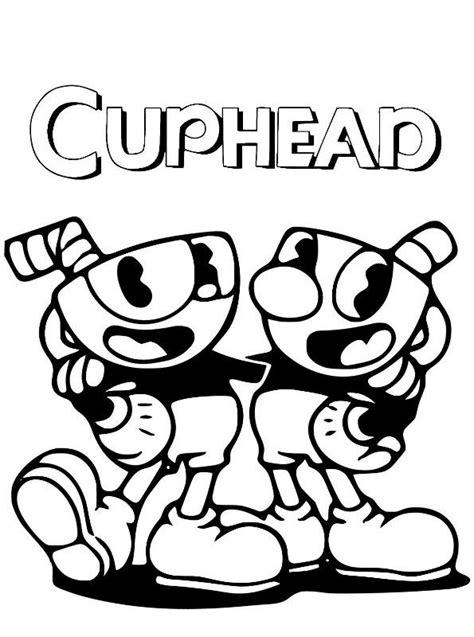 kids  funcom coloring page cuphead cuphead
