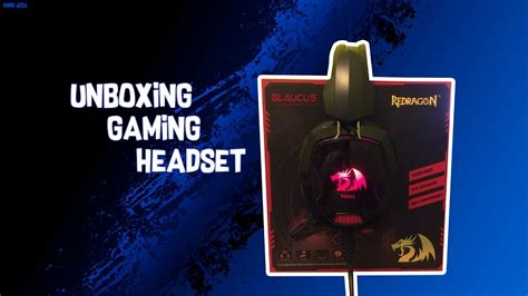 Headset Glaucus unboxing gaming headset h501 glaucus khmer