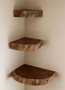 25 best ideas about floating corner shelves on