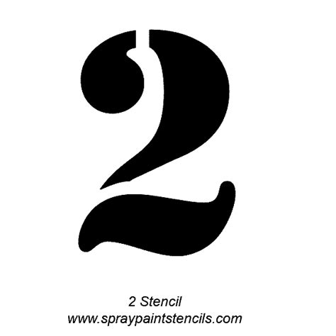 Alphabet Letter Stencils Number Templates For Spray Painting