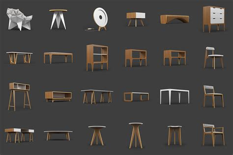 furniture model  odesd  architectural