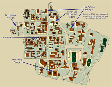 map of university of texas university of texas map