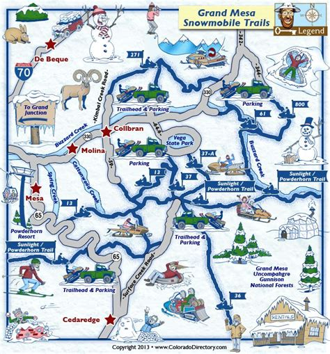 grand map trails 17 best images about snowmobile trail maps on