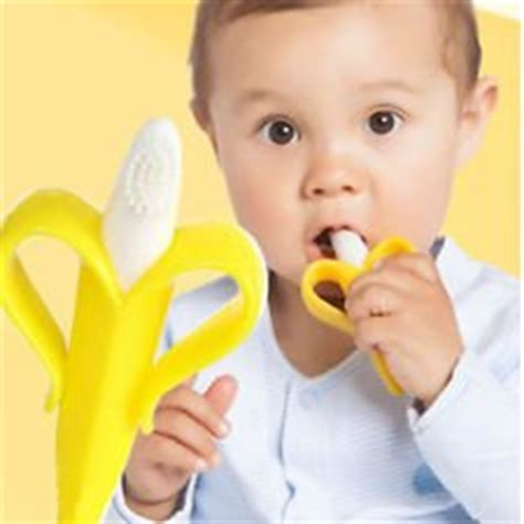 Nuby Banana Toothbrush Teether Nananubs Massager Best Product baby banana infant toothbrush and teether baby