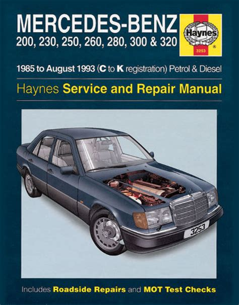 mercedes 124 shop manual service repair book haynes 300e 300te 260e 300d w124 mb ebay mercedes benz 124 series 1985 1993 haynes sagin workshop car manuals repair books information
