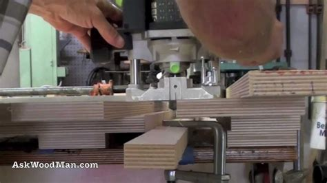 edge banding woodworking router technique