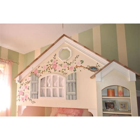 dollhouse bunk bed dollhouse loft bed creme de la fleur