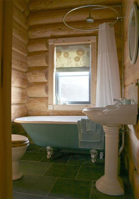 roll top shower bath about newland valley log cabins ulverston cumbria