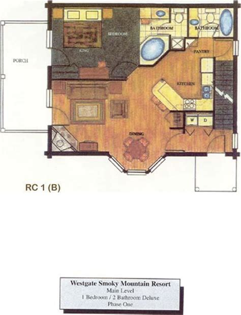 westgate smoky mountain resort floor plans westgate smoky mountain resort at gatlinburg unit floor plan pictures