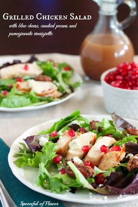 Detox Chicken Salad Recipe by To Be Blue Cheese And Grilled Chicken Salad On