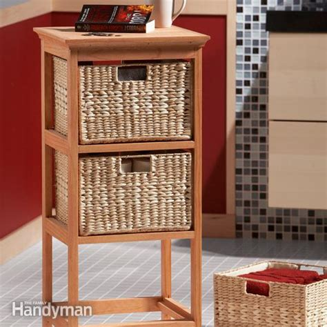 build  basket stand  family handyman