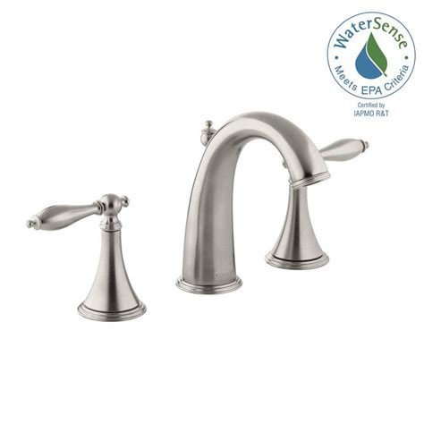 kohler bathroom sink faucets widespread widespread traditional bathroom faucet