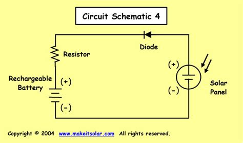 blocking diode in battery charger science fair project idea calculation exercise for a solar battery charger