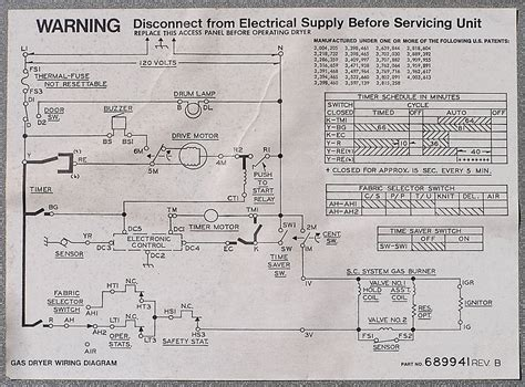 whirlpool dryer motor wiring diagram schematic dryer