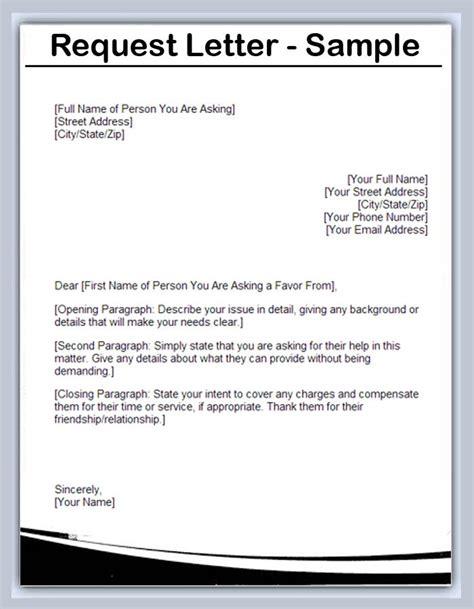 services request letter archives sle letter