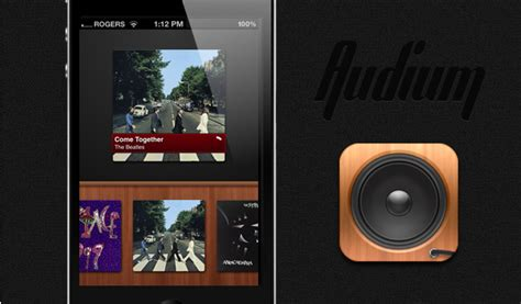 Beautifully Driven audium is a beautifully simple gesture driven ipod player