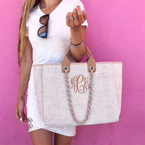 monogram coco tweed handbag  love jewelry