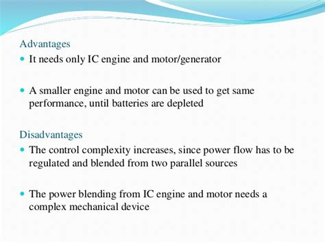 Electric Vehicles Advantages And Disadvantages Electric And Hybrid Vehicles