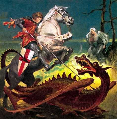 saint george and the dragon st george the dragon erinlawless co uk