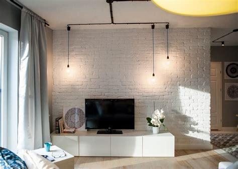 Mur Brique Blanche Salon by Parement Mural Salon Et Peinture Artistique En 80 Id 233 Es D 233 Co