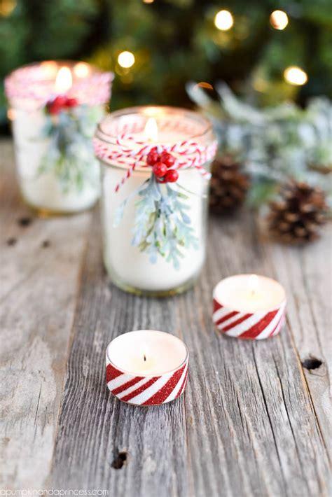 christmas candles diy diy peppermint jar candles a pumpkin and a princess