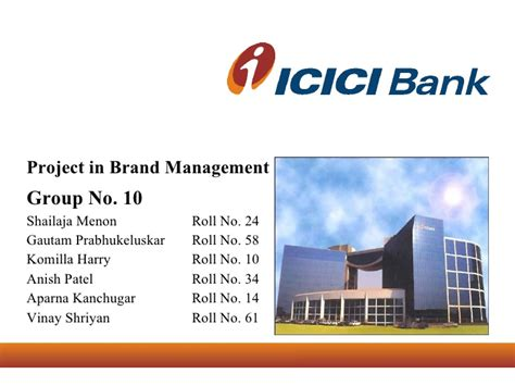 icici bank official site brand management icici bank